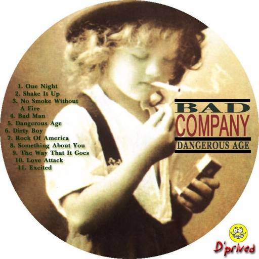 Bad Company - Dangerous Age 1988.