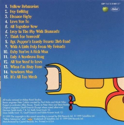 Beatles - Yellow Submarine (1969)