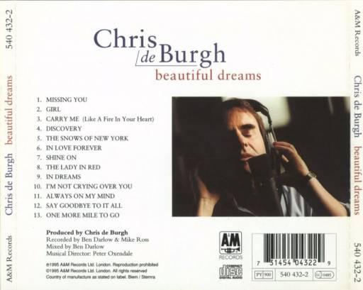 Chris De Burgh - Beautiful Dreams 1995