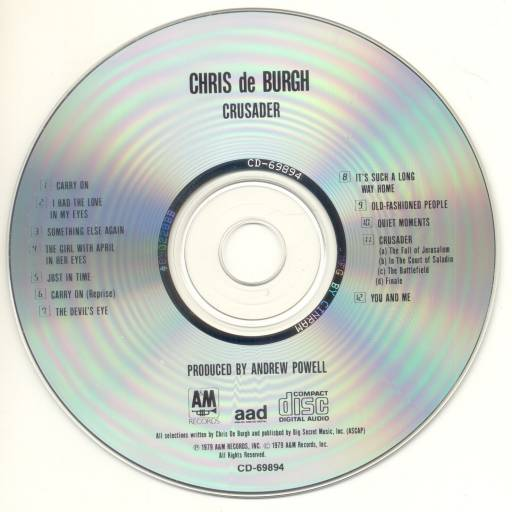 Chris De Burgh - Crusader 1979