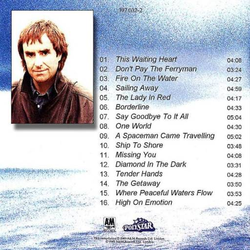Chris De Burgh - Spark To A Flame (1989)
