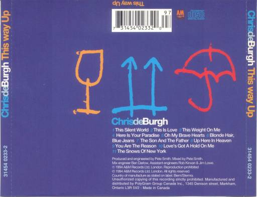 Chris De Burgh - This Way Up 1994
