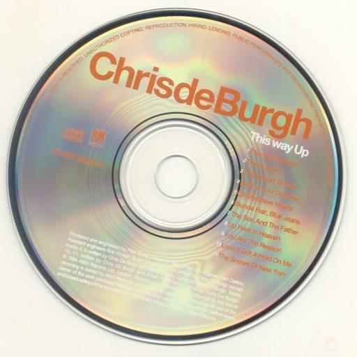 Chris De Burgh - This Way Up 1994