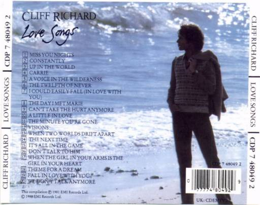Cliff Richard - Love Songs 1981