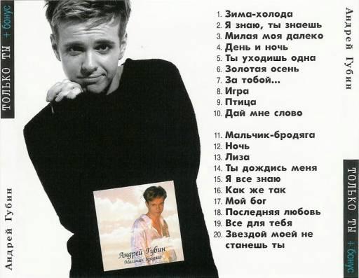 Губин Андрей - Только ты