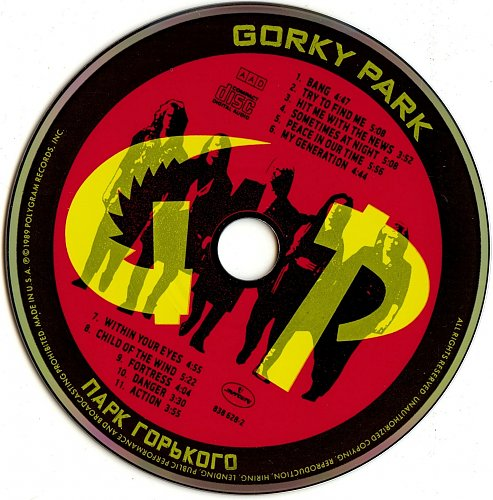 Gorky Park - Gorky Park 1989