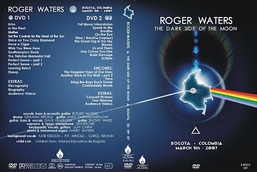 Roger Waters - The Dark Side Of The Moon - Bogota