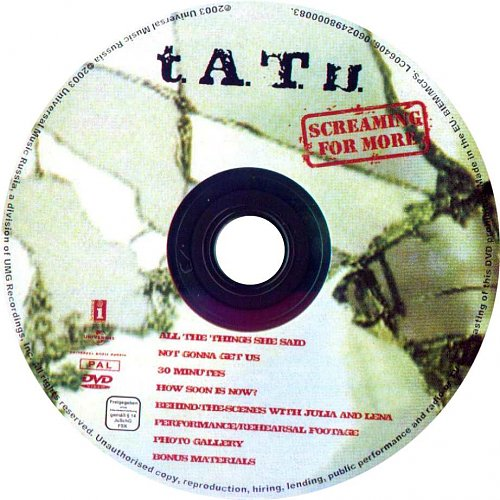 T.A.T.U. - Screaming For More