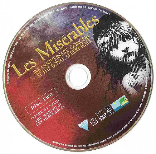 Les Miserables -10th Anniversary Concert