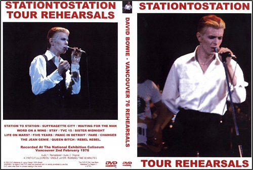 David Bowie - Station To Station Tour Rehearsals