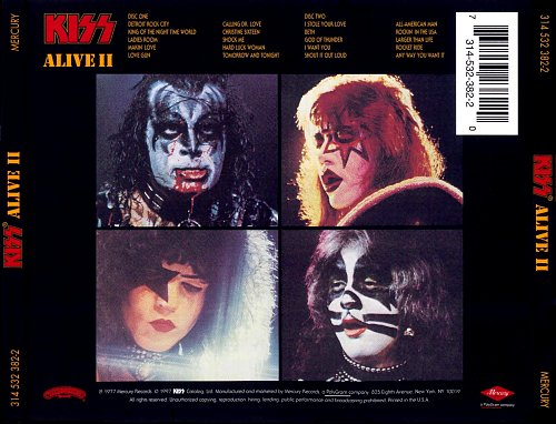 Kiss - Alive II 1977