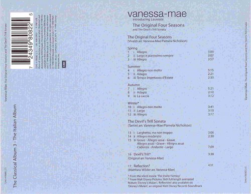 Vanessa Mae - The Original Four Seasons & The Devil's Trill Sonata (1999)