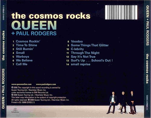 Queen + Paul Rodgers - The Cosmos Music (2008)