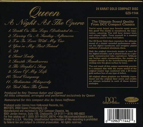 Queen - A Night At The Opera 1975