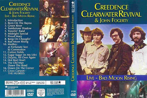 Creedence Clearwater Revival & John Fogerty - Live: Bad Moon Rising