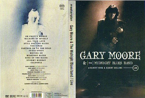 Gary Moore  The Midnight Blues Band - Live With Albert King  Albert Collins
