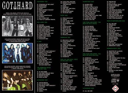 Gotthard - MP3 Collection 2008 (Brazil)