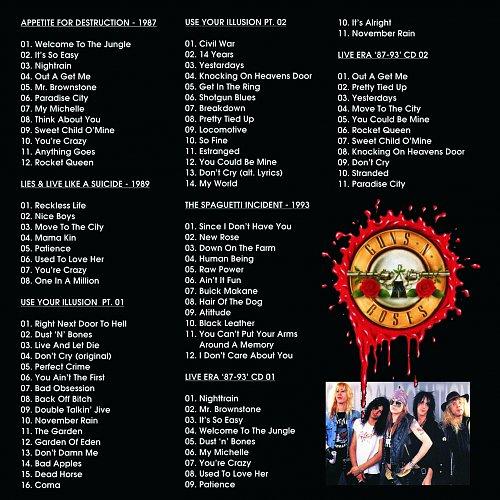 Guns N Roses - Full Discography MP3