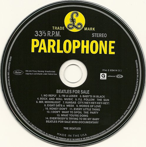 Beatles, The - Beatles For Sale (1964)