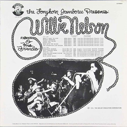 Willie Nelson - The Longhorn Jamboree Presents Willie Nelson  His Friends