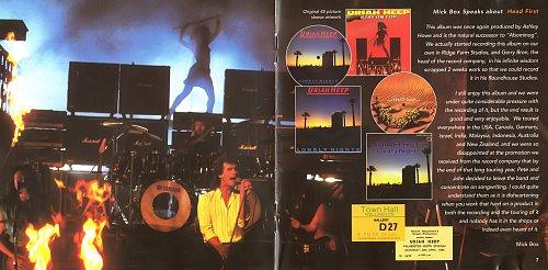 Uriah Heep - Head First (1983)
