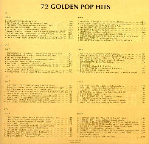 V.A. - 72 Golden Pop Hits