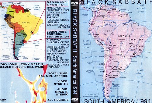 Black Sabbath - South America 1994