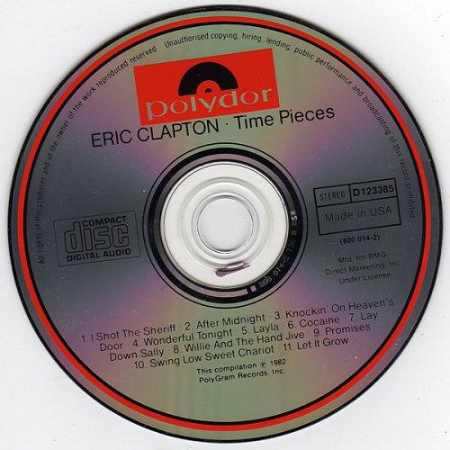 ERIC CLAPTON - Time Pieces Vol.1  1982