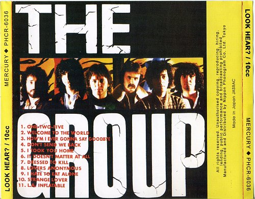 10CC Look hear 1980 back