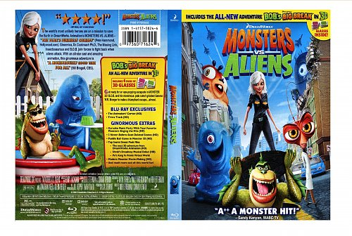 Монстры против пришельцев/Monsters vs Alliens (2009)