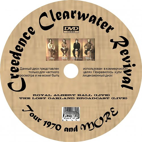 Creedence Clearwater Revival - Tour 1970 and more (1970)