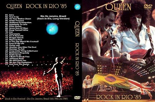 Queen -  Rio De Janeiro Brazil (Rock In Rio Long Version)