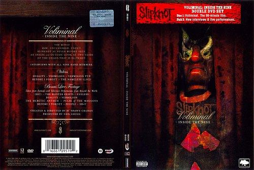 Slipknot Voliminal Inside The Nine Double DVD Set 2006