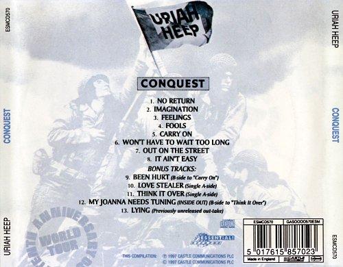 Uriah Heep - Conquest 1980