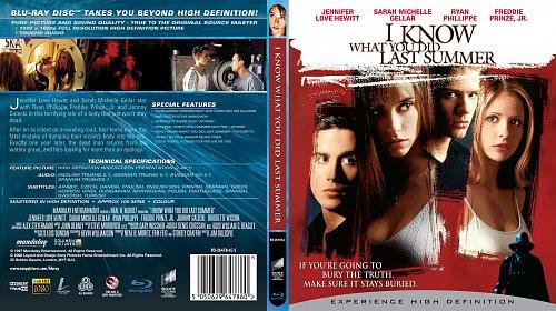 Я знаю, что вы сделали прошлым летом (I Know What You Did Last Summer) Blu-ray