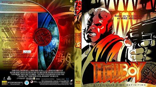 Хеллбой (комикс) Blu-ray