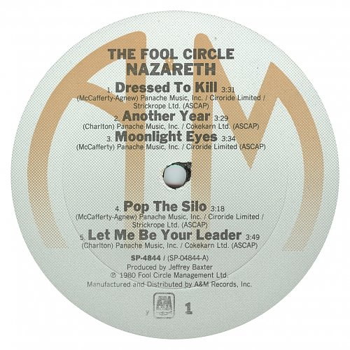 Nazareth - The Fool Circle (1980)