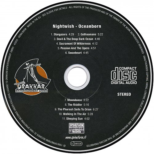 Nightwish - Oceanborn (1998)