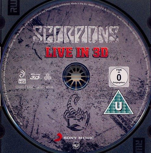 Scorpions  Live In 3D (2011)