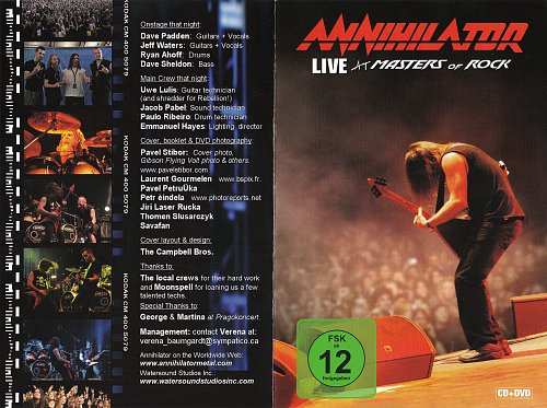 Annihilator - Live At Masters Of Rock 2009