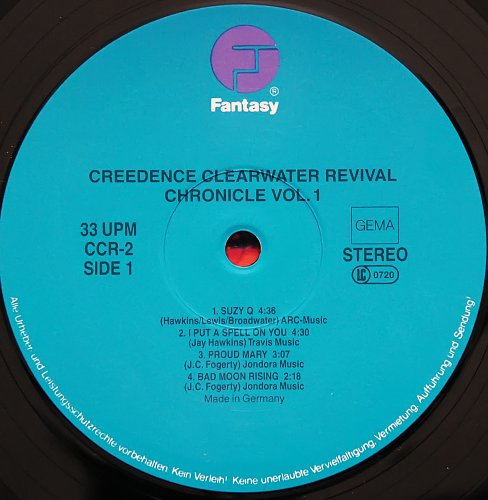 Creedence Clearwater Revival - Chronicle, Vol. 1 (1976)