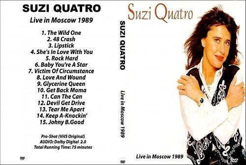 Suzi Quatro-Live In Moscow (1989)