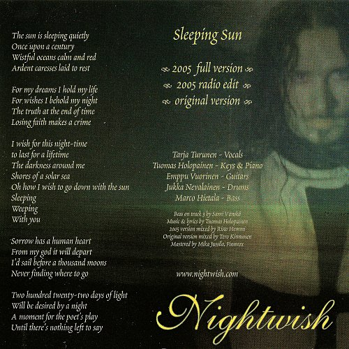 Nightwish - Sleeping Sun (2005)