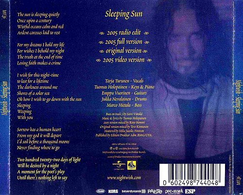 Nightwish - Sleeping Sun (2005)