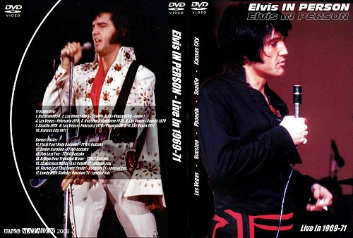 ELVIS  in Person-Live in 1969-71