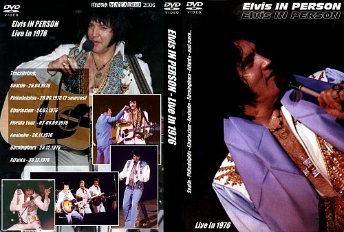 ELVIS in Person- live in 1976