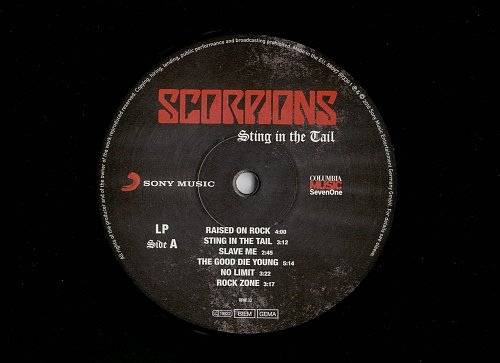 Scorpions-Sting in the Tail[2010]