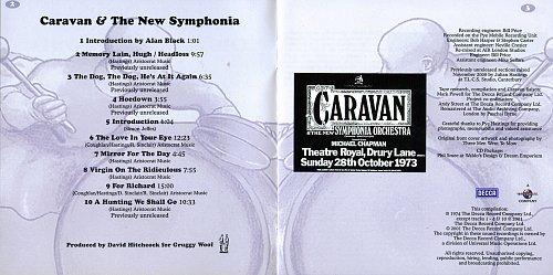 Caravan - Caravan & The New Symphonia (1974)