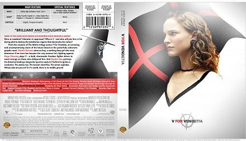 «V» значит Вендетта (V for Vendetta) 2005 Blu-ray