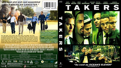 Мальчики-налетчики / Takers (2010)